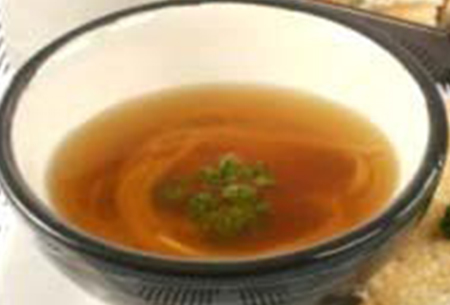 Brown onion soup - hCG diet weight loss recipe