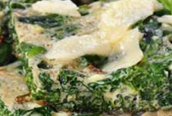 Spinach & Parmesan Slice