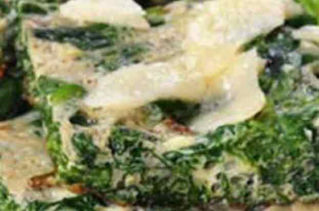 Spinach & Parmesan Slice